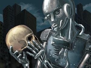 robot uprising human extinction