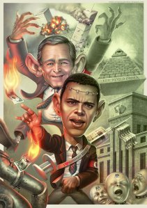 Obama Bush New World Order