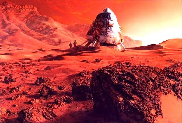 man on planet mars - photo #21
